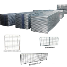 Field Agricultural Hot Dipped Galvanized Pipe Main Farm Gate Galvanized Metal Corral Panel Cattle Horse Cow Sheep Fence Panel