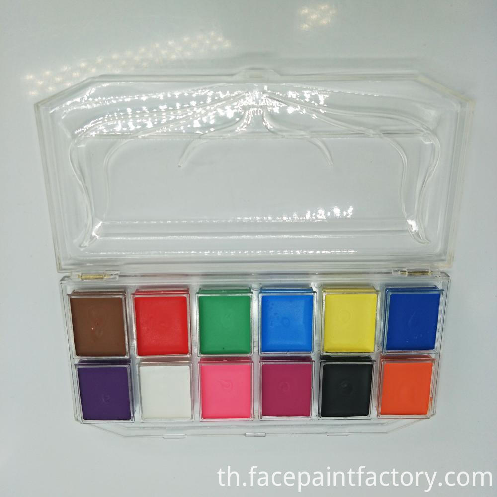 New Face Paint 12colors 2
