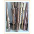 building indoors wood pillar design