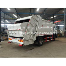 China Euro 3 12 Wheels 6X4 Rubbish Collector Truck (18 cubic meters)