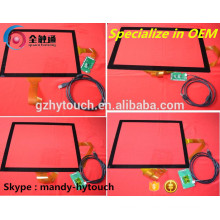 Fabricant LCD Lvds Capacitif Touch Screen Touch Glass