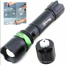 Rechargeable Aluminum Police Flashlight (CC-888)