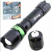 Перезаряжаемый фонарик полиции алюминия (CC-888)