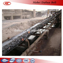 DHT-104 heat resistant rubber conveyor belts for chemical industry