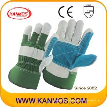 Ab grado de seguridad industrial de cuero Palm trabajo guantes (110152)