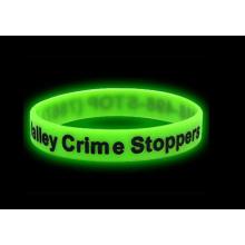 Green Sport Luminous Silikon Glow in Dark Armband