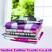 Drap de lit teint ou imprimé en coton, polyester / coton