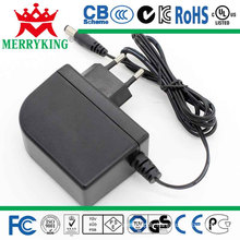 12V2a AC/DC Adapter 24W Switching Power Supply (UK, AU, US, JP, EU)