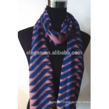 100% F/Wool Large Chevron Scarf