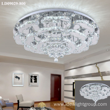K9 chandelier crystal modern lighting fitting for hotel