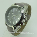 Luxus Mode Quarz Typ und Unisex Geschlecht Herren Leder Uhr