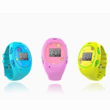 Relógio esperto impermeável da G / M GPS das crianças com telefonema