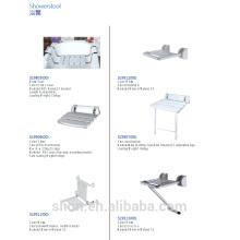 Assento de chuveiro de boa qualidade para casa de banho de SLION