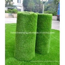 Relva artificial, grama artificial com alta qualidade