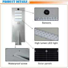 Lámpara de calle solar ahorro de energía del sensor de movimiento 70W