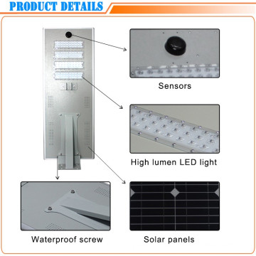70W Motion Sensor Energy Saving Solar LED Street Lamp