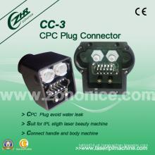 Cc-3 CPC Plug Connector IPL Peças de reposição IPL Machine Accessory