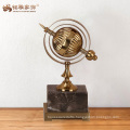 Factory custom gift items art craft metal cast figure for office decoration