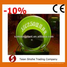 Mini mezclador de hormigón JZC250, pequeño mezclador de hormigón en china