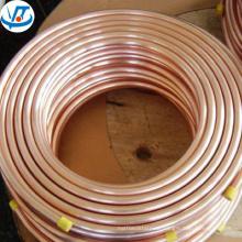 TP2 99.9% copper coil pipe / TU0 99.99% round square rectangular copper tube