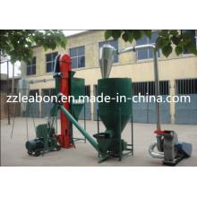 Chaîne de production de machine de granule d'alimentation animale de vente chaude