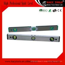 Précision des outils de niveau télescopique en aluminium