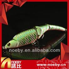 NOEBY soucoupe de pêche embouchure artificielle en plastique rigide joint à pêche articulé