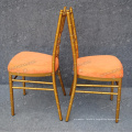 Sharp Gold Rental Chairs (YC-A18-02)