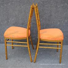 Sharp Gold Vermietung Stühle (YC-A18-02)