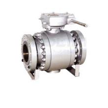 Munhão de aço forjado montada a válvula de esfera