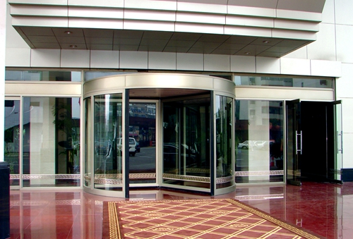 High Quality Three-Wing Stainless Automatic Revolving Door