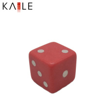 Лучшее качество 14мм Красная с белыми точками кости