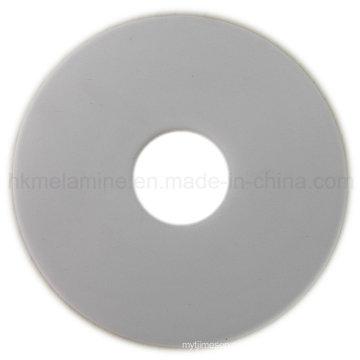 Белый круглый силиконовый коврик (RS38)