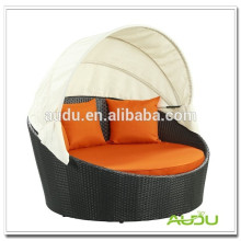 Audu Big Size Round Rattan Outdoor Daybed Escolha de qualidade