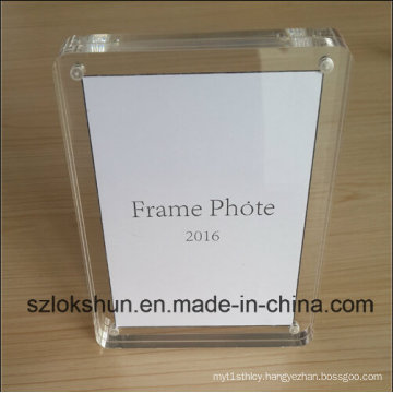 2016 The Best Gift Acrylic Magnetic Photo Frame, Elegant Present Photo Frame