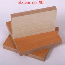 Bons Preços Melamined MDF Board for Decoration
