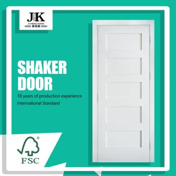 JHK-Birch Kitchen Cabinet Antiquity Wood Grain Shaker Door