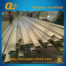 Tubo cuadrado de acero inoxidable (rectángulo) por Material 304, 304L