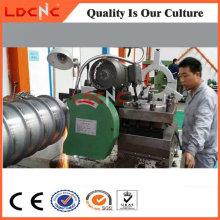 Torno de alta precisión horizontal y fabricante de torno de pulido del metal