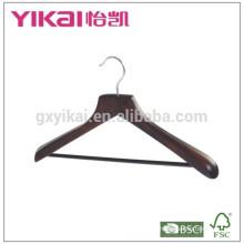 Amplo cinto de cabide de ombro com barra redonda e em cor antiga