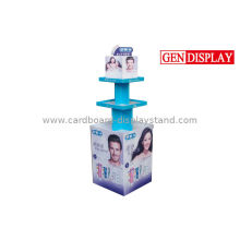 Toothbrush Cardboard Display Stand With Cmyk Printing