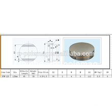Mandril magnético circular redondo D125mm-100KG
