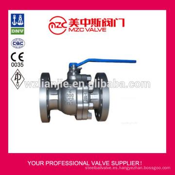 300LB ensanchó vávula de bola WCB de válvula de bola de acero de carbono