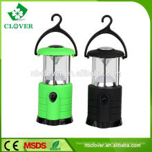 Hohe Helligkeit führte Camping Lampen Camping Notfall Licht 7 LED tragbare kleine Camping Laterne