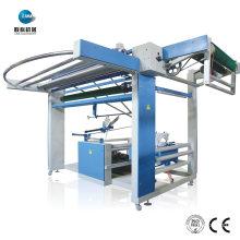 Máquina de coser con abertura para bolsa textil