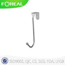 Chrome Metal Wire Over-The-Door Hook