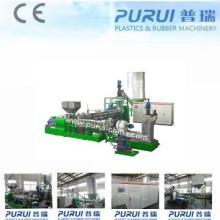 Granulator for plastic film