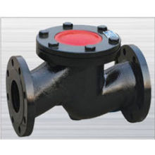 cast iron flanged ends lift check valve