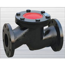 Cast iron lifting flange check valve dn80 types