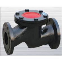Válvula de retenção de flange de ferro fundido dn80 tipos